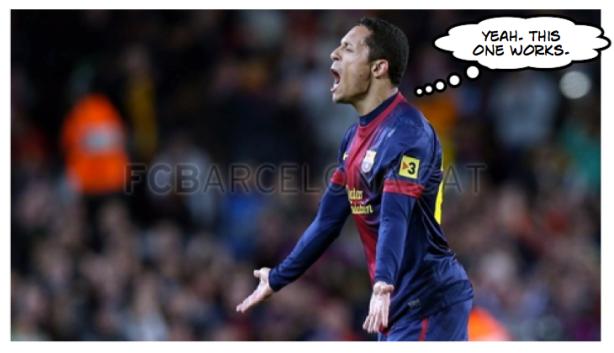 Adriano goal celebration 3