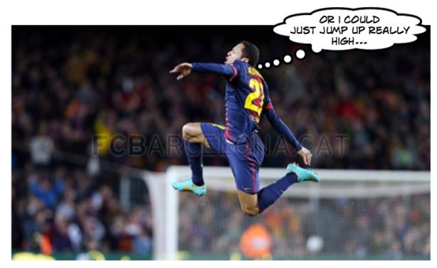 Adriano goal celebration 4